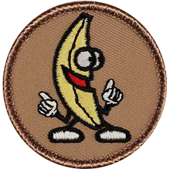 Screaming Banana Patrol (Patch image courtesy of patchtown.com)