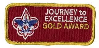 Journey to Excellence Gold Unit Award